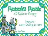 Robots Rock 3D Robot & Writing