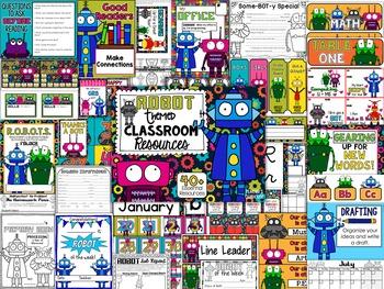 Robots Theme Decor Pack