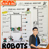 Robots All About Me Poster