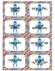 Robots Themed Behavior Clip Chart