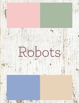 Robots Toddler Theme
