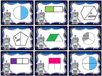 Robots are Equal (Equivalent Fractions)