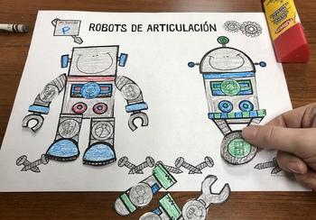 Robots de Articulación: A Speech Therapy Craft Activity (Español)
