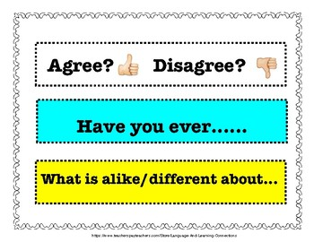 Robust Vocabulary Conversation Prompts