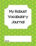 Robust Vocaulary Journal-Common Core