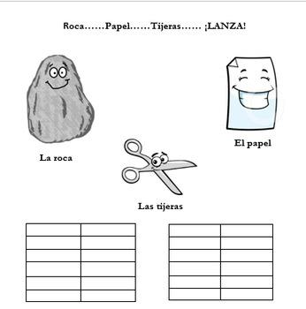Roca, Papel, Tijeras - Game - Spanish 1