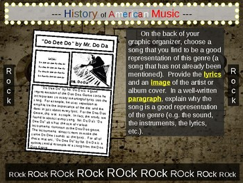Rock: A comprehensive & engaging Music History PPT (links, handouts and more)