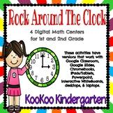 Rock Around The Clock-Digital Math Centers for Google Classroom