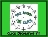 Rock Around the Clock: Clock Decorating Kit