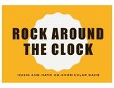 Rock Around the Clock - Music and Math Circle Game