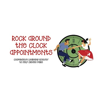 Rock Around the Clock Partners--Cooperative Learning Activ