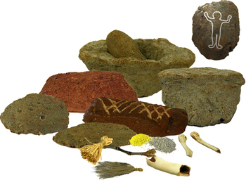 Rock Art Artifacts (INCLUDED in Cave Paintings & Petroglyphs Museum Bundle)