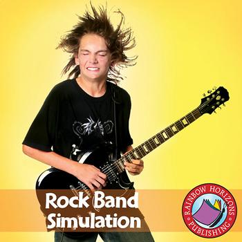 Rock Band Simulation Gr. 4-6