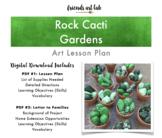 Rock Cacti Garden Lesson Plan (Art, Science, Nature) - Classroom & Home Decor
