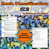 Rock Classification CER (Claim, Evidence, Reasoning)