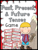 Past, Present, & Future Verb Tenses Game - 40 Task Cards!