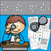 Rock Cycle (Reading Passage, Vocabulary Activities, Research and More)