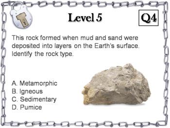 Rock Cycle Activity: Escape Room - Science