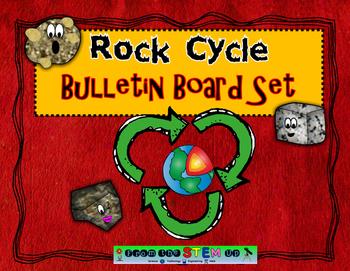 Rock Cycle Bulletin Board POSTER SET