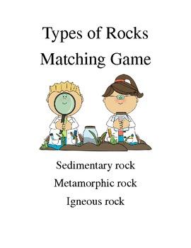 Rock Cycle Card Sort / Game