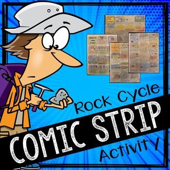 Rock Cycle Comic Strip Activity