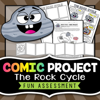 Rock Cycle Comic Strip - Project