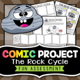 Rock Cycle Project - Comic Strip