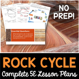 Rock Cycle Complete 5E Lesson Plan