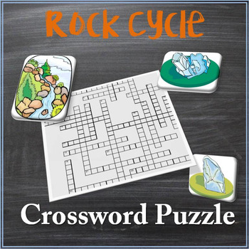 Rock Cycle Crossword Puzzle