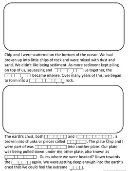 Rock Cycle Cryptogram Story & Other Activities