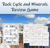 Rock Cycle & Earth Science Review Game