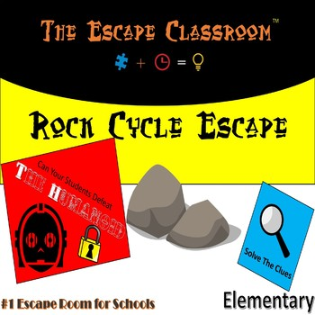 Rock Cycle Escape Room (Elementary) | The Escape Classroom