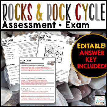 Rock Cycle Exam - Assessment