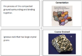 Rock Cycle Flashcards & Quiz Pack with Modified Quiz