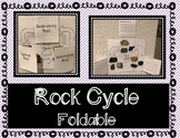 Rock Cycle Foldable / Interactive Notebook