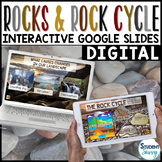 Rock Cycle Google Classroom Distance Learning | Interactiv