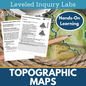 Topographic Maps Inquiry Labs