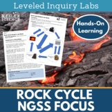 Rock Cycle Inquiry Labs - NGSS focus
