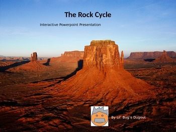Rock Cycle Interactive Powerpoint (Editable)