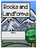 Rock Cycle, Layers of the Earth, Landforms BUNDLE (ADVANCED, ESOL, SPED, DIFF)