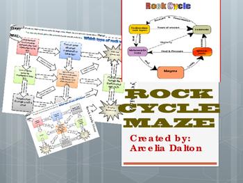 Rock Cycle Maze
