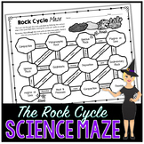 The Rock Cycle Science Maze