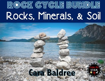 Rock Cycle, Minerals, and Soil Science and Literacy Complete Unit BUNDLE