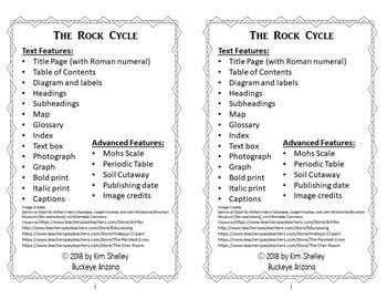 Rock Cycle Mini Book (At Level)