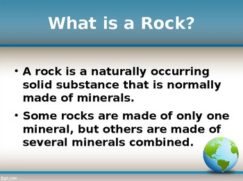 Rock Cycle Powerpoint