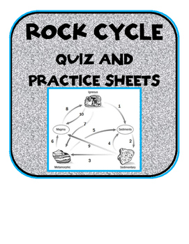 Rock cycle quiz with answer key and practice worksheets by scienceisfun rock cycle quiz with answer key and practice worksheets ccuart Choice Image