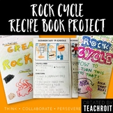 Rock Cycle Recipe Book (Foldable Book, Rubric & Teacher Guide)