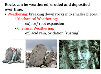 Rock Cycle Review (Florida SSA Statewide Science Assessment)