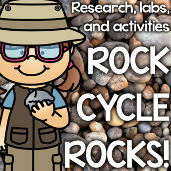 Rock Cycle Experiments, Informative Writing, Igneous, Metamorphic, Sedimentary