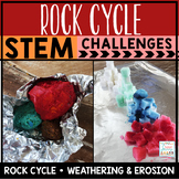 Rock Cycle Unit STEM Challenges
